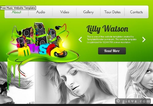 free website template 118