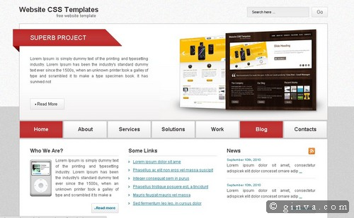 free website template 12
