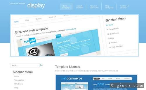 free website template 121