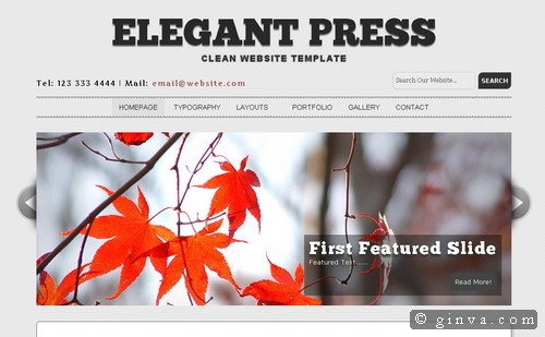 free website template 124