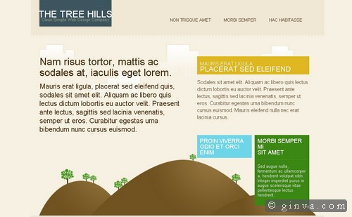 free website template 2