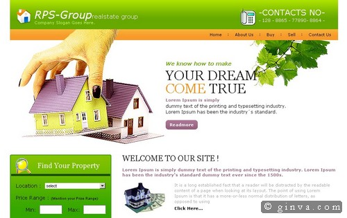 free website template 20