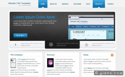 free website template 30