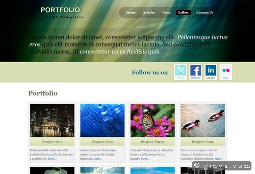 free website template 34