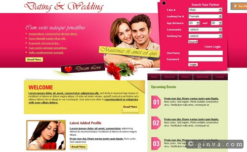 free website template 35