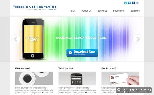free website template 36