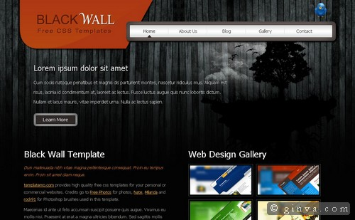 free website template 37