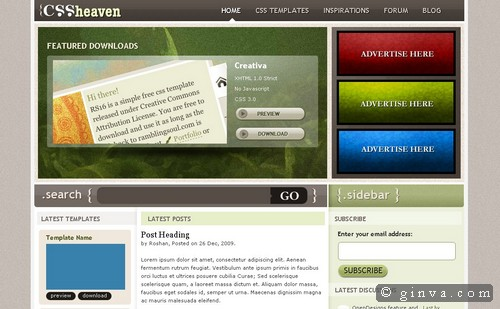 free website template 42