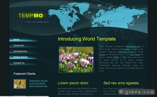free website template 51