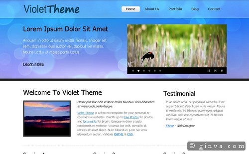 free website template 53