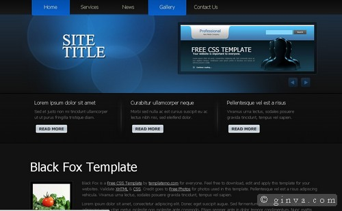 free website template 56