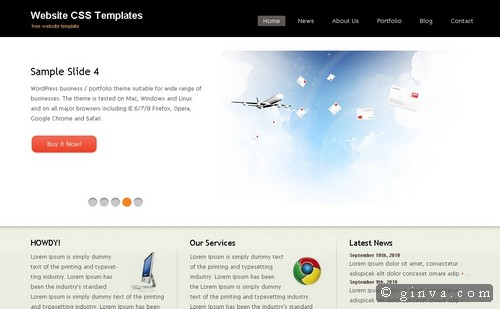free website template 73