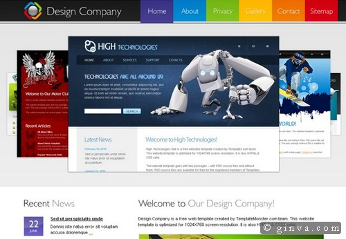 free website template 76