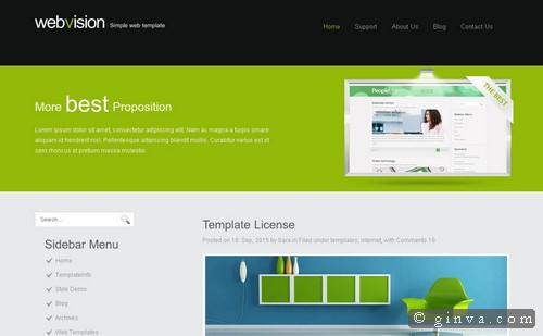 free website template 78