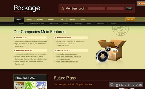 free website template 80