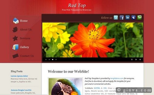 free website template 95