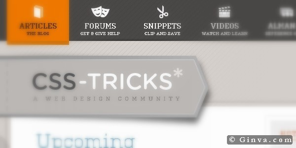 Website Menu Designs