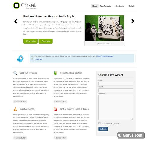 free clean simple wordpress theme 114