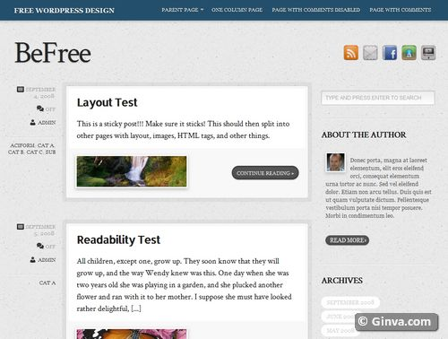 free clean simple wordpress theme 31