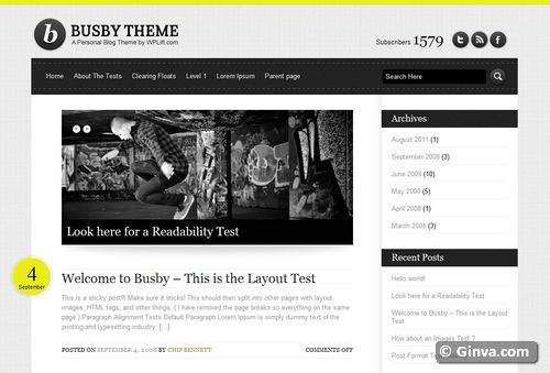free clean simple wordpress theme 82