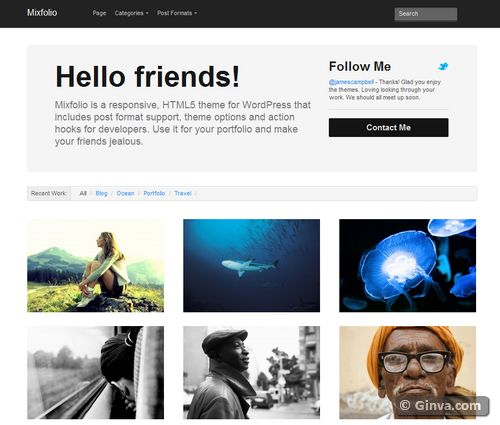 free clean simple wordpress theme 84