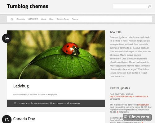 Free Clean and Simple WordPress Themes