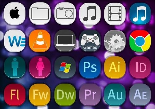 Download Free Mac OS Icon Sets