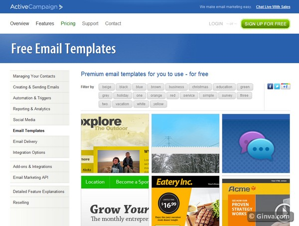 download free html email newsletter templates - Free Email Newsletter Templates