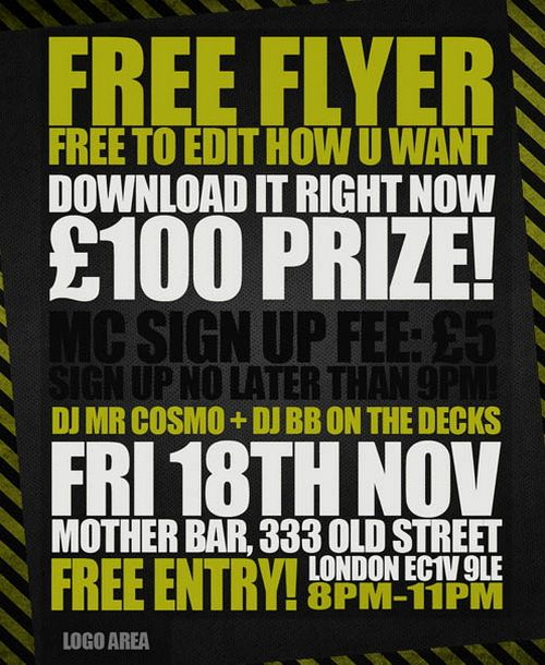 Free Event Flyer PSD