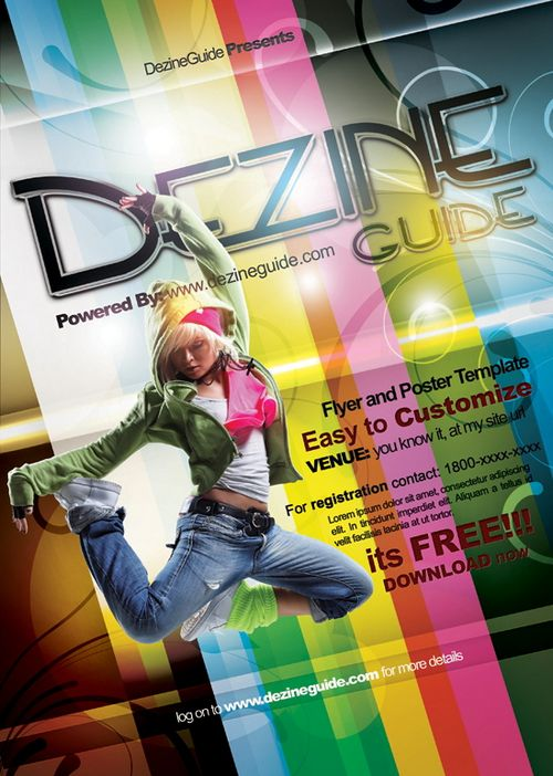 Night clubs & event party Flyer/Poster Template