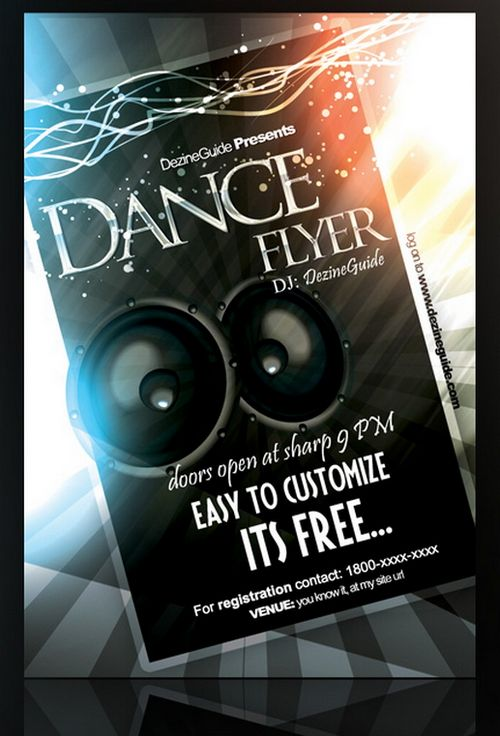 Download Free Dance Flyer