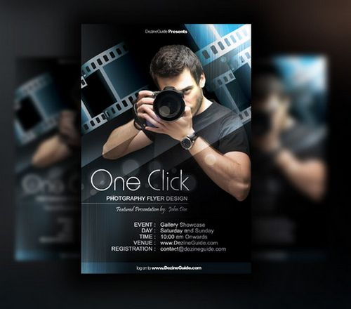 free poster flyer template psd design 5