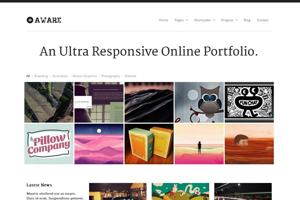 30 of the Best Free & Premium Responsive WordPress Themes | Ginva
