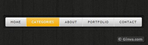 free vertical horizontal css3 menu navigation 21
