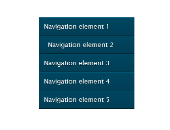 free vertical horizontal css3 menu navigation 3