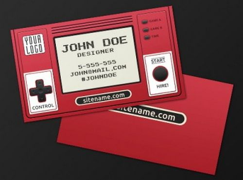 vintage retro business card design 10