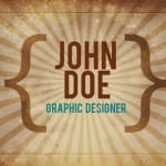 40+ Free and Premium Vintage/Retro Style Business Card Templates
