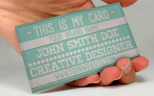 vintage retro business card design 23
