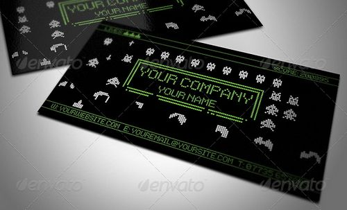 vintage retro business card design 28