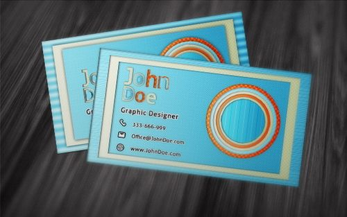 vintage retro business card design 9