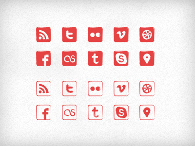 06 social icon sets download