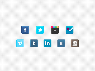 08 social icon sets download
