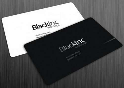 60 absolutely free dark and black business card templates ginva black business card templates colourmoves