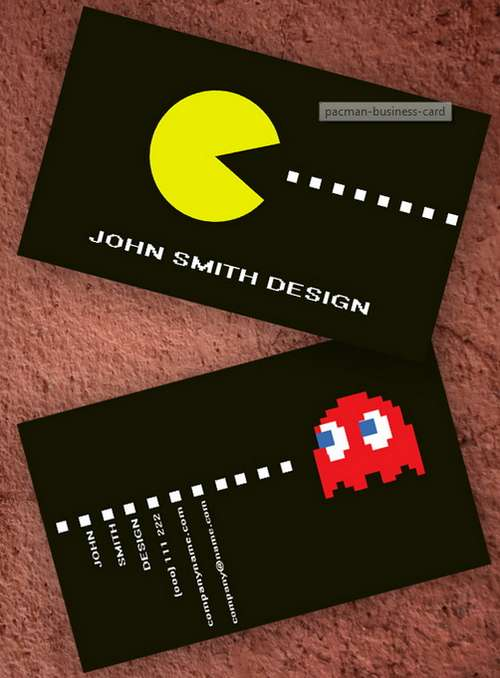 black business card templates - Back Of Business Card