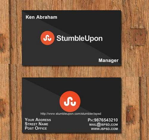 Black Business Card Templates
