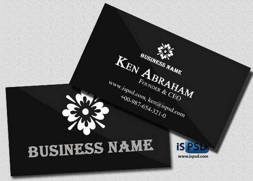 Business cards 60 absolutely free dark and black business cards download free dark black business card templates 51 colourmoves