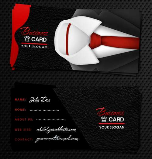 Absolutely Free Dark And Black Business Card Templates Ginva - Business card template psd download