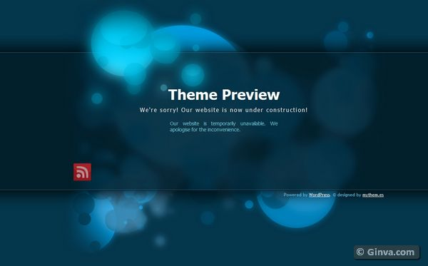 Free Under Construction / Coming Soon / Maintenance / Pre Launch WordPress Themes