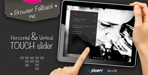 jQuery Content and Image Slider
