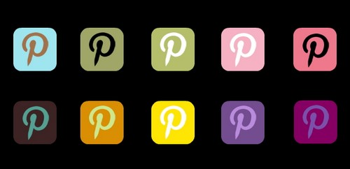 Pinterest Icon Sets and Pin it Bookmark Buttons